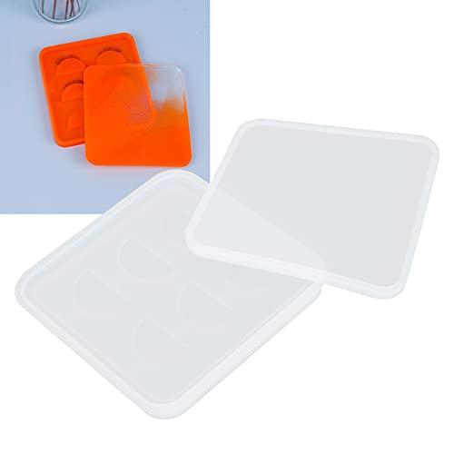 Molde de soporte de pestañas, soporte de pestañas fácil de desmoldar Fácil de usar con resina para regalo artesanal de bricolaje