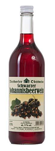 Diesdorfer Schwarzer Johannisbeerwein 11% vol. 0,75 L (1)