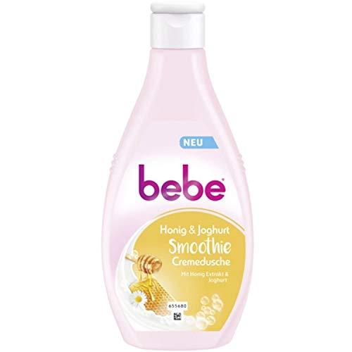 Bebe Young Care Honig & Joghurt Smoothie Duschgel 6er Pack (6 x 250 ml)