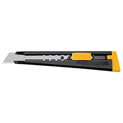 OLFA 18mm Heavy-Duty Utility Knife (ML) - Multi-Purpose Retractable Precision Knife w/ All Metal Handle & Snap-Off Blade, Replacement Blades: Any OLFA 18mm Blade