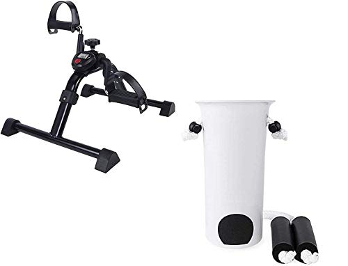 Vaunn Medical Mobility Assistance Bundle - Electronic Pedal Exerciser and Adjustable Sock Aid