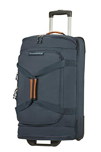 American Tourister Alltrail - Bolsa de Viaje con Ruedas M, 67 cm, 75.5 L, Azul (Navy)
