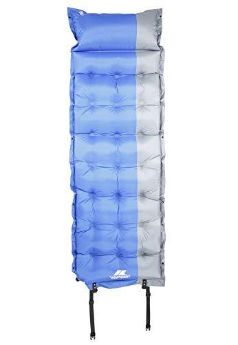 Trespass SOLTARE Matela autogonflant léger avec Compartiments Mousse aérée, 190 cm x 60cm x 5cm d'épaisseur, 1.5kg Mixte Adulte, Bleu, FR Unique (Taille Fabricant : Each)