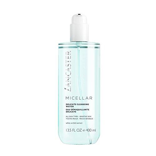 LANCASTER Micellar Delicate Cleansing Water, Mizellen-Reinigungswasser, strahlend schönes, verfeinertes Hautbild, 400 ml