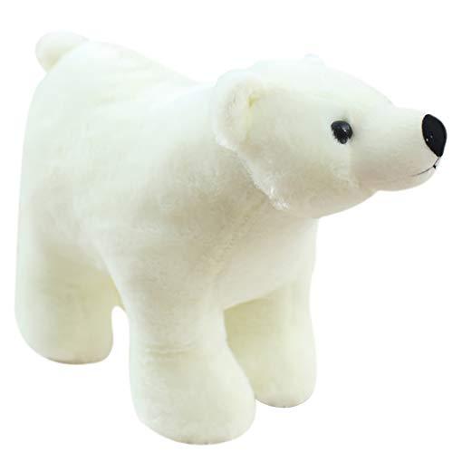 FINIVE - Peluche de Oso Polar, Peluche Suave, cojín Decorativo para niña, Regalo de cumpleaños
