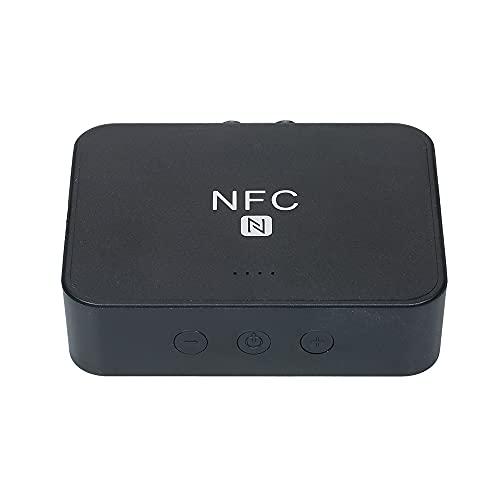 Skyeen Receptor De Audio BT 5.0 con FuncióN NFC Puertos RCA AUX para El Hogar/Coche Soporte EstéReo TransmisióN FM ReproduccióNde Tarjetas TF