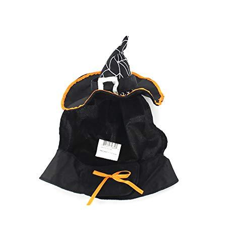 Rocita Sombrero de bruja para gatos y perros pequeños, disfraz...