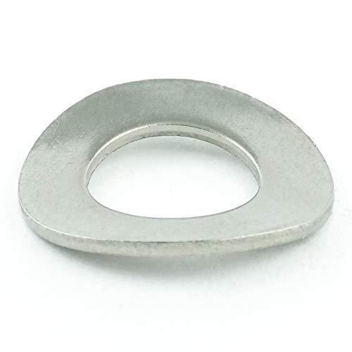 Eisenwaren2000 | Federscheiben M16 (5 Stück) - Federringe DIN 137 gewellt Form B - Sprengringe - Sperringe - Edelstahl A2 V2A - rostfrei