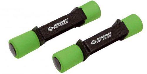 Schildkröt Hanteln für Fitness/Aerobic/Jogging, geschmeidig, 2 Stück 2 x 0,5 kg
