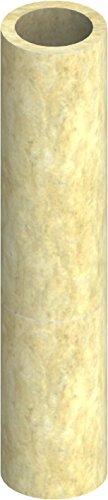 Isolierschale für einwandige EW Schornsteine, Isolierstärke 20mm, für Ø 130mm Innendurchmesser; 1000mm Länge, kürzbar, Edelstahl