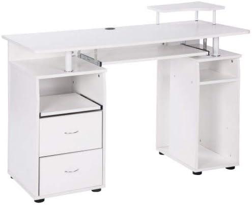 レビューを書けば送料当店負担 Merax Home Office Desk Computer Wooden Moder 国内正規総代理店アイテム PC Laptop