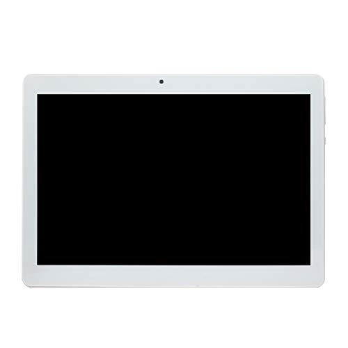 Beaums Reemplazo para Android 6.0 Tablet PC de 10 Pulgadas 1 GB de RAM 64 GB ROM Octa Core 8 Núcleos de cámaras duales 5.0MP Enchufe de la UE
