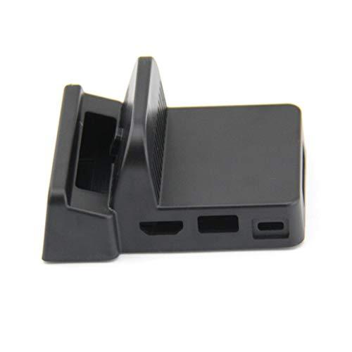 Barukra Mini caja de acoplamiento de repuesto DIY para estación de acoplamiento Nintend Switch Caja de muelle de reemplazo portátil para interruptor