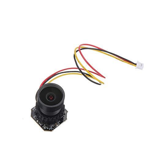 LIUXING Telecamera per RC Quadcopter 1080P 30fps 2MP DVR Registrazione HD 1/2.8 CMOS WDR Sostegno 256G TF for RC Drone FPV dell'aeroplano Auto Endoscopia (Colore : Nero, Dimensione : 38mmx38mm)