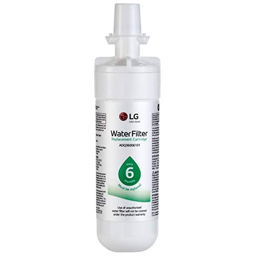 LG LT700P- 6 Month / 200 Gallon Capacity Replacement Refrigerator Water Filter (NSF42 and NSF53) ADQ36006101, ADQ36006113, ADQ75795103, or AGF80300702 , White , Single