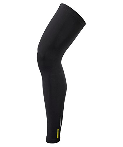 Mavic - Aksium Leg Warmer, color negro, talla L