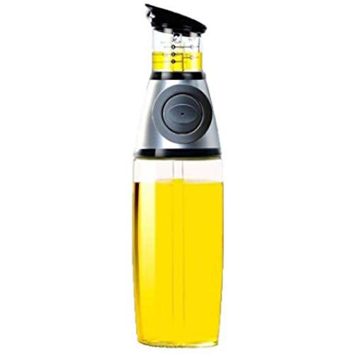 Olivenölspenderflasche - Öl- und Essigflasche mit tropffreien Ausgüssen - Enthält 500 ml Flaschen