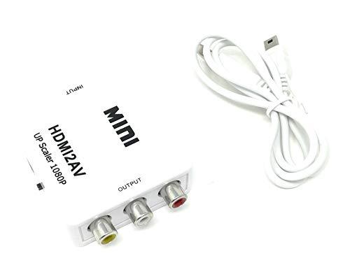 tempo di saldi Convertidor adaptador de HDMI a AV CVBS RCA Audio...
