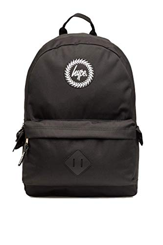 Hype Black Crest Midi Backpack