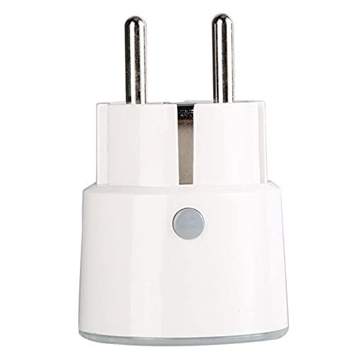 Enchufe de WiFi Control de Voz Manos Libres Enchufe de WiFi Soporte de Enchufe de la UE Alexa, Google Home