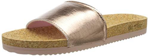flip*flop Damen poolcorgi Sandale, Gold (Rose Gold), 36 EU