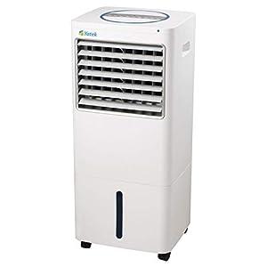 YATEK Climatizador evaporativo YK-16A, con 220 W de Potencia y 30L de Capacidad, Ofrece un caudal de Aire de 1600m3/h Durante más de 30h, con Mando a Distancia