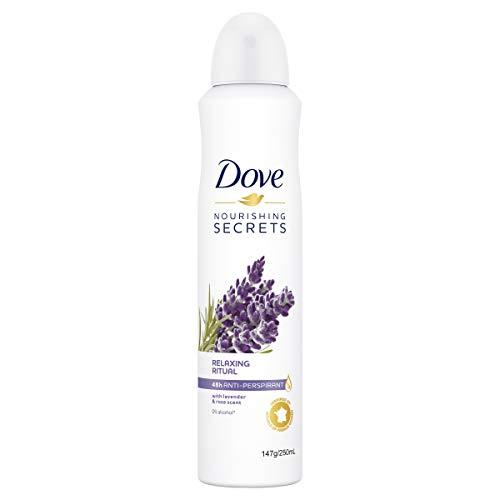 Dove Nourishing Secrets Lavender and Rose Anti-Perspirant Deodorant, Lavender and Rose, 250 ml