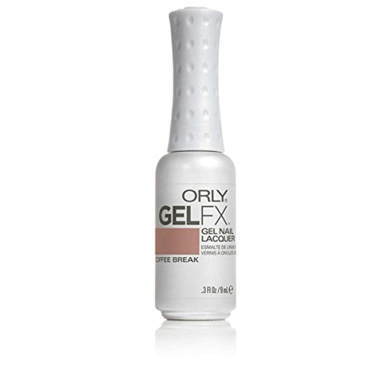 案件無秩序商品ORLY(オーリー)ジェルFXジェルネイルラッカー 9ml コーヒーブレイク#30575