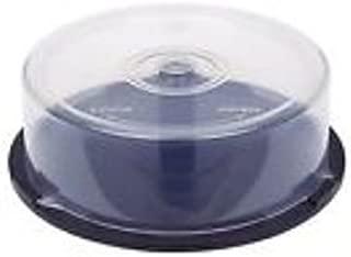 CD/DVD caja de torta de plástico transparente Tinas - (tiene 25 ...