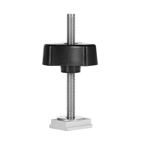 Set Schnellspannklemmen aus Metall für T-Holzbearbeitungswerkzeuge mit T-Nut (T-Schraube + Griffmutter)
