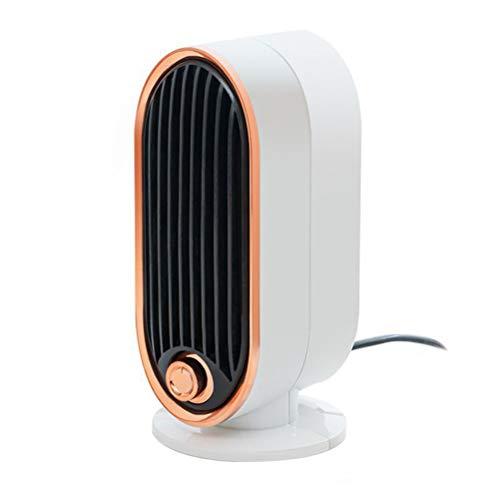 YYHXX Termoventilatore, Stufa Elettrica Basso Consumo, 2 Livelli di Temperatura, Veloce Riscaldamento Silenzioso Riscaldatore da Tavolo