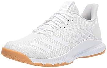 adidas Women s Crazyflight Bounce 3 Volleyball Shoe White/White/Gum 11.5 M US