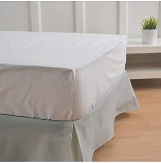 10XDIEZ Cubre canapés 90 Gris - Medidas canapé 90cm - Elegante y Sencillo de Lavar y Colocar - Tejido Fuerte, Suave y Duradero
