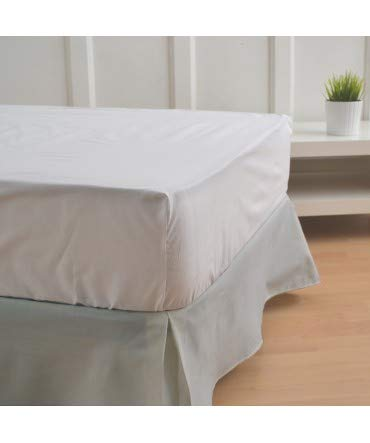 10XDIEZ Cubre canapés 150 Gris - Medidas canapé 150cm - Elegante y Sencillo de Lavar y Colocar - Tejido Fuerte, Suave y Duradero