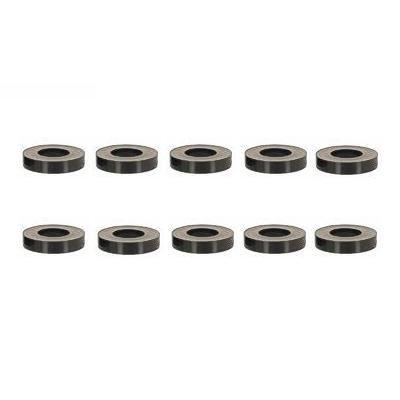 Distanzhülsen für M6 Schrauben, Länge 2.5mm, Kunststoff schwarz, 100 STK.