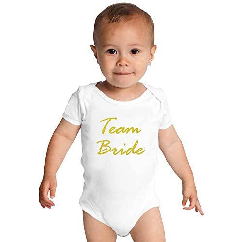 Equipo de Novia Ropa Bebé Onesies