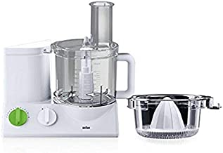 Braun TributeCollection Food Processor, 220-volt (Not for USA - European Cord), 12-Cup, White