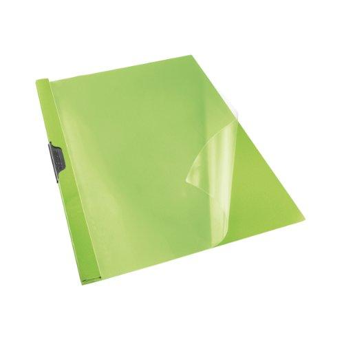 ESSELTE VIVIDA ClipFile Standard PVC - Capacità 30 fogli - Verde VIVIDA - 563760