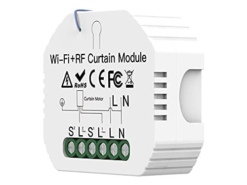 Módulo de persianas WiFi 2,4 G + RF 433 + botón ascendente,...