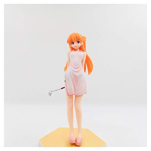 From HandMade Neon Genesis Evangelion Asuka Figuur schort ver.Figuur Action Figure