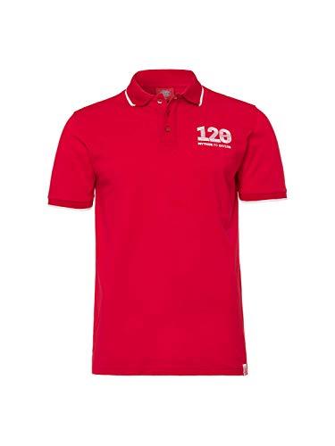 FC Bayern München Poloshirt 120 Jahre rot M
