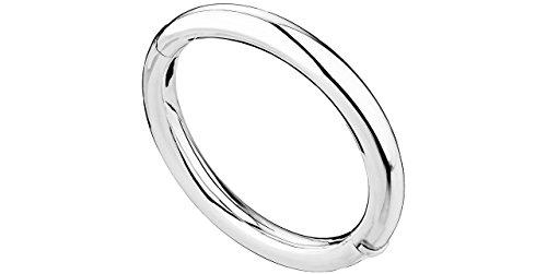 Canyon Schmuck Armreif oval aus Silber 925mit Knickgelenk, 23.2G, 60mm Durchmesser
