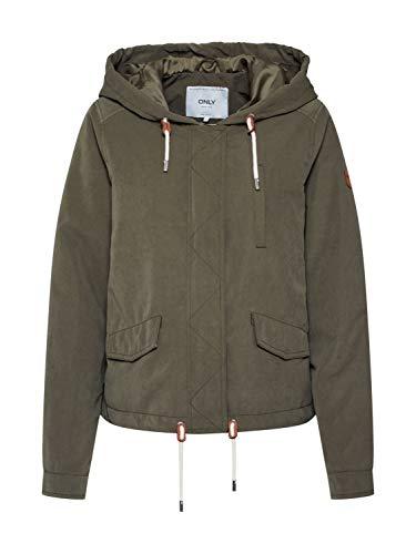 Only Onlnewskylar Spring Jacket CC Otw Anorak, Kalamata, XS para Mujer