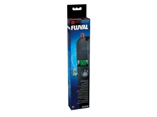 Fluval E-Heizer - Der Elektronikheizer aus der E-Serie 200 Watt für Aquarien bis 250 Liter