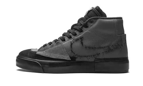 Nike SB Zoom Blazer Mid Edge - Scarpe da uomo, Grigio (Ron Grey Black Black), 46 EU