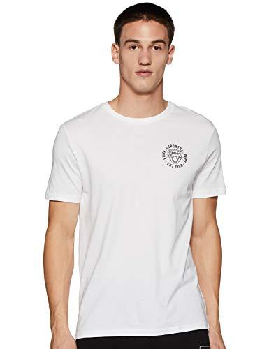 PUMA 578728 - Camiseta de hombre Graphic Vintage Cat T 02, color blanco blanco XXL