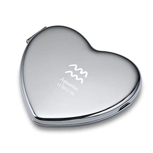 HXR Espejo de maquillaje portátil Constelación para regalo de cumpleaños para el...