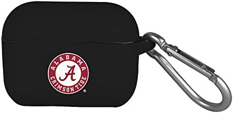 AudioSpice NCAA Alabama Crimson Tide Silicone Cover for Apple AirPods Pro Charging Case with product image