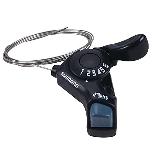 Paddsun SL-TX30-6R Fahrrad Daumen Schalthebel,6-Gang-Schalthebel für Mountainbike, Stadt, Straße, Klapprad