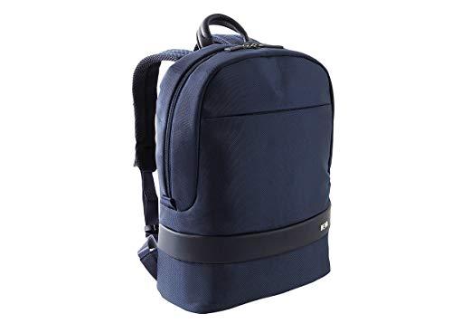 Nava diseño fácil de mochila–noche azul